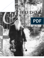 Spring 2000 Orthodox Vision Newsletter, Diocese of the West