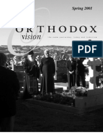 Spring 2001 Orthodox Vision Newsletter, Diocese of the West