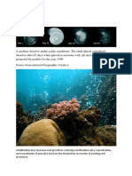 Bad and Good Effect of Ocean Acidic