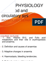 Pathophysiology of Blood