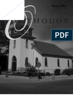 Winter 2002 Orthodox Vision Newsletter, Diocese of the West