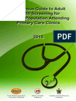 Screening Guidelines for Primary Care