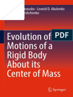 Felix L. Chernousko, Leonid D. Akulenko, Dmytro D. Le hk,.uk shchenko (Auth.)-Evolution of Motions of a Rigid Body About Its Center of Mass-Springer International Publishing (2017)