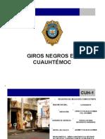 Giros Negros en Cuauhtemoc
