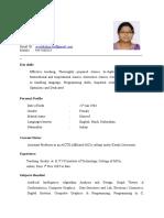 Sree Lakshmi V (Curriculum Vitae)-2017.doc