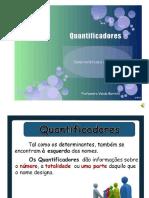 Os Quantificadores