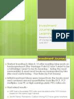 Investment Journey