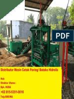 Mesin Batako Makassar +62 815-5351-0016