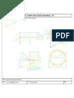 Engineering Drawing Plate