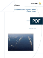 Technical Description of Offshore Wind Power Plant