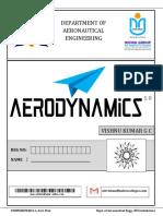 Aerodynamics Front Page
