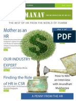 Manav, the Feb Edition of HR Magazine from HR-nXt, IISWBM