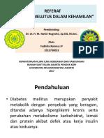 Referat Diabetes Mellitus Gestasional