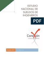 Estudio Nacional de Sueldos de Ingenieros 2017
