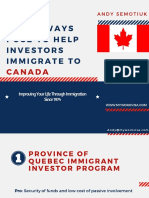 5 Best Ways I Use to Help Investors Immigrate to Canada.01