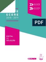 Edital Scope Score 2018