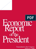 1999 Economic Report of The President
