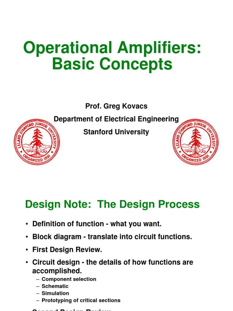 2 Op Amp Concepts Operational Amplifier Lm741 The 741 Is Used As A Summing To Combine Several