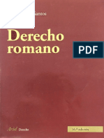 Derecho Romano (Juan Iglesias)