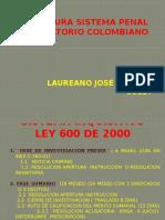 Esquema Comparado Ley 600 y Ley 906