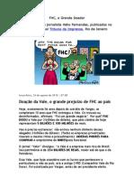 FHC, o Grande Doador