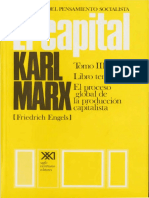 Karl Marx - El Capital - Tomo III - Volumen 8