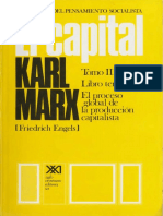 Karl Marx - El Capital - Tomo III - Volumen 7