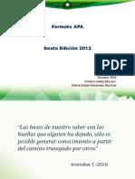 Fernández Presentación APA 6° EDICIÓN