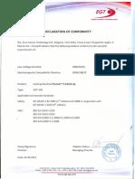 Declaration of Conformity VS8 en 2013.09.02