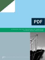 Sea Transport of Ammonium Nitrate Based Fertilizers