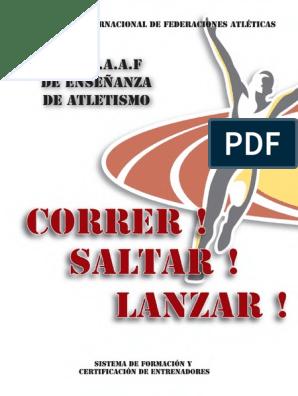 correr saltar y lanzar iaaf pdf