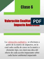 Valoracion de Impactos