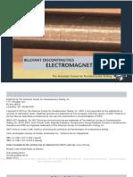 Relevant Discontinuities Electromagnetic Testing (ET), (eBook)