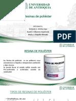 Exposicion-resinas de Poliéster