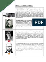 Heroes de La II Guerra Mundial
