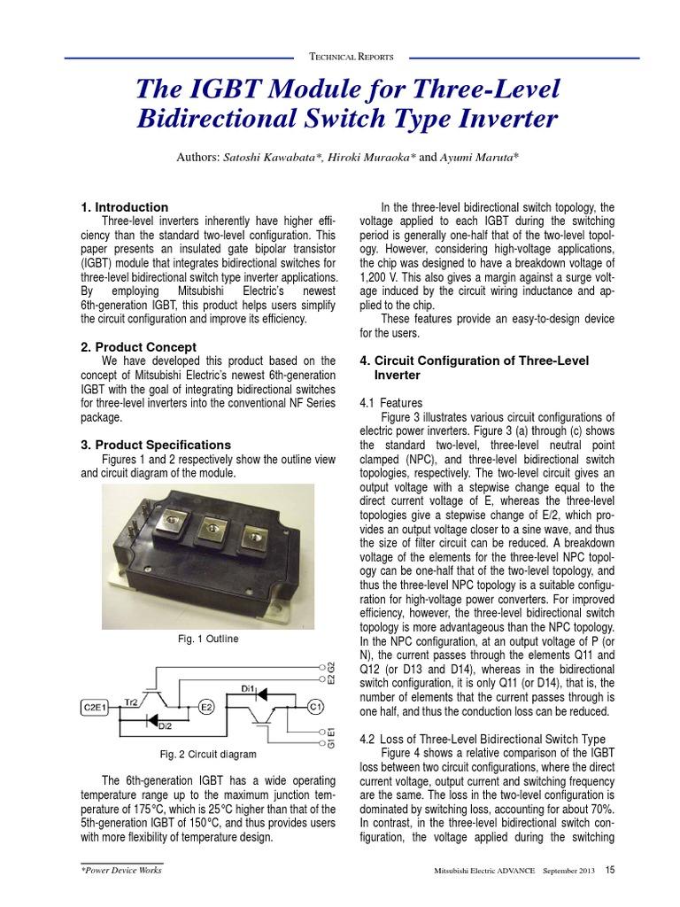 143 Tr6 Power Inverter Components Igbt Ups Circuit Diagram