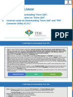 E-Tutorial - Download Form 16Anew