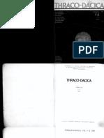 Thraco-Dacica, VII, 1-2, 1986