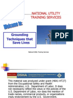 Grounding Techniques That Save Lives