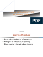CE 403 - Topic 2 - Typical Infrastructure Planning Steps