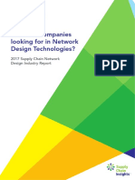 2017 Supply Chain Network Design Industry Report Final