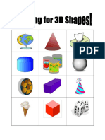 looking for 3d shapes  math sheet  cut and paste