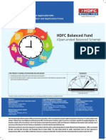 HDFC Balanced Fund KIM