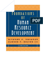 Texto 1 - Swanson - Foundations of Human Resource Development 2009 - Cap 1