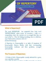 Repertory Presentation
