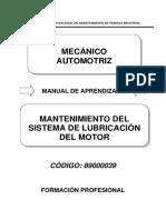Mantenimiento Basico Del Motor