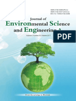 Journal of Environmental Science and Engineering,Vol.6,No.10A,2017