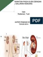 Akep Ureterolithiasis