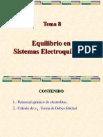 Tema8-Equlibrio Sistemas Electroquimicos