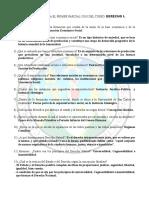 Derecho 1 Primer Parcial 2010